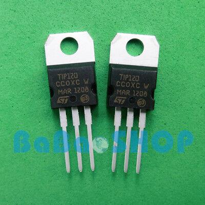 15pcs Tip120 120 Pnp Darlington Transistors To-220 St Brand New