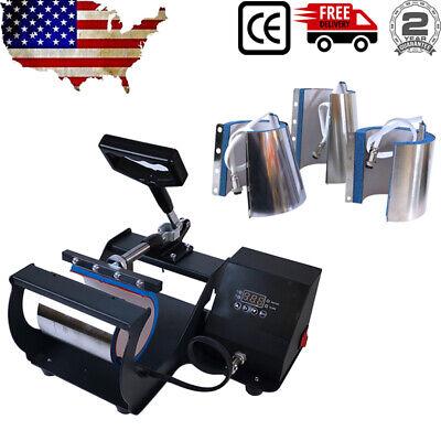 Mug Press Machine Sublimation Transfer Cone Cylindrical Tumbler 10oz111217oz