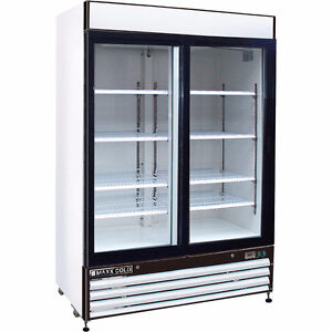 Looking for a large, 2-glass-door fridge for registered charity