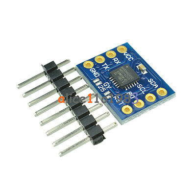 Mpu-6050 6dof Angle Module Tilt Angle Module Mcu Data Output Serial Directly Al