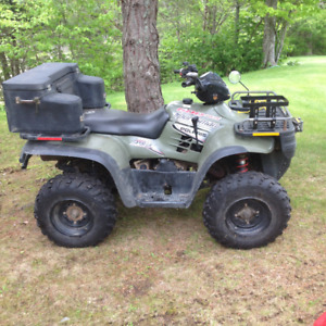 REDUCED ATV FOR SALE 2004 POLARIS SPORTSMAN 600 TWIN 2500 or OBO