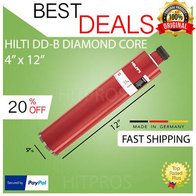 Hilti Diamond Core Bit Dd-b 102320 4 X 12 Hdmu New Free Laser Meter