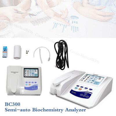 Bc300 Semi-auto Biochemistry Analyzer Analyzing Blood And Fluidtouchprinter