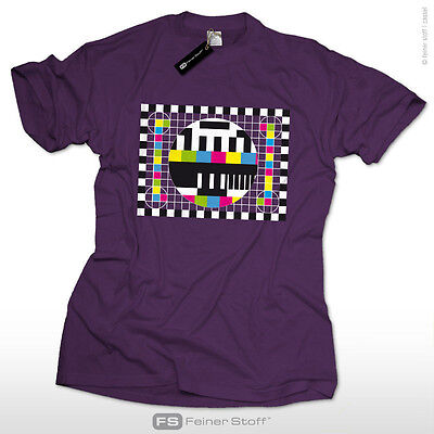 Testbild Sheldon's Fan T-Shirt as seen@ TV Nerd big bang theory Cooper Fernseher