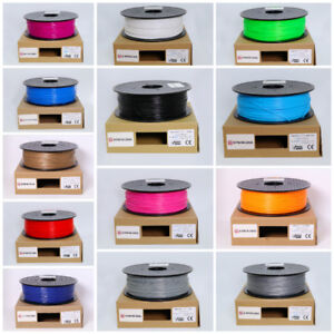 3D Printer Filaments - $14.95/KG for PLA! - 3D Printing Canada