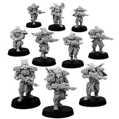 Chaos Red Pact Squad (10) Wargame Exclusive Red Chaos