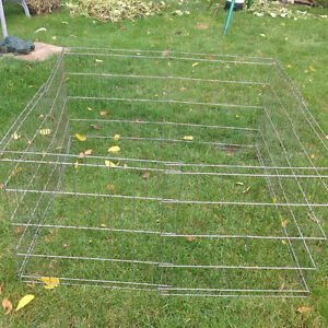 """Playpen for Dogs Eight 24"""" Wide x 25"""" High Panels Kitchener / Waterloo Kitchener Area image 1"""