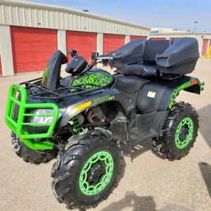 2016 Arctic Cat 700 MudPro LTD, 1 owner, only 278 km - like New