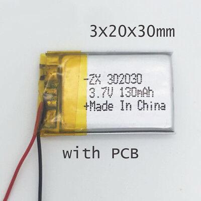 Batería LIPO 402030 3.7V 180 mAh Drone Mp3 MP4 MP5 PSP GPS bluetooth