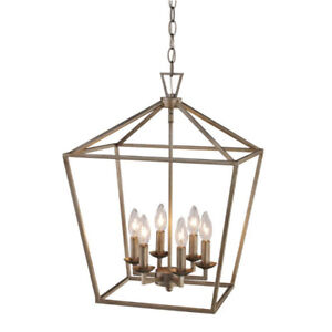 Trans Globe 10266 16-inch Lacey Colonial Pendant Chandelier