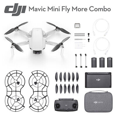 Original DJI Mavic Mini Drone - Fly More Combo!2019 New