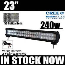 """23"""" 240w CREE 5D Lightbar (+wiring harness ) light bar 4x4 truck Craigie Joondalup Area Preview"""