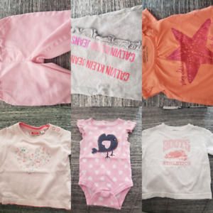 Baby girl clothes sizes 0-9 months