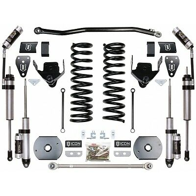 """ICON 2014- 2016 RAM 2500 4WD 4.5"""" Suspension System Stage 4 (Air Ride)"""