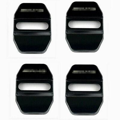 4x Schwarz Türschloss Abdeckung Schutzkappe Für Benz C/E Klasse GLC GLK CLA AMG