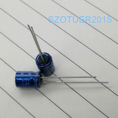 2pcs 2.7v 1f Farad Ultracapacitor 1f 2.7v Supercapacitor Farad Capacitor New
