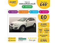 Vauxhall/Opel Antara 2.2CDTi ( 163ps ) 2012MY Exclusiv FROM £49 PER WEEK
