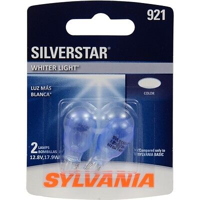 Sylvania 921 Silverstar High Performance Miniature Bulb, (Pack Of 2)