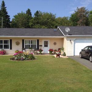Senior Friendly Garden Home with Garage in Summerside