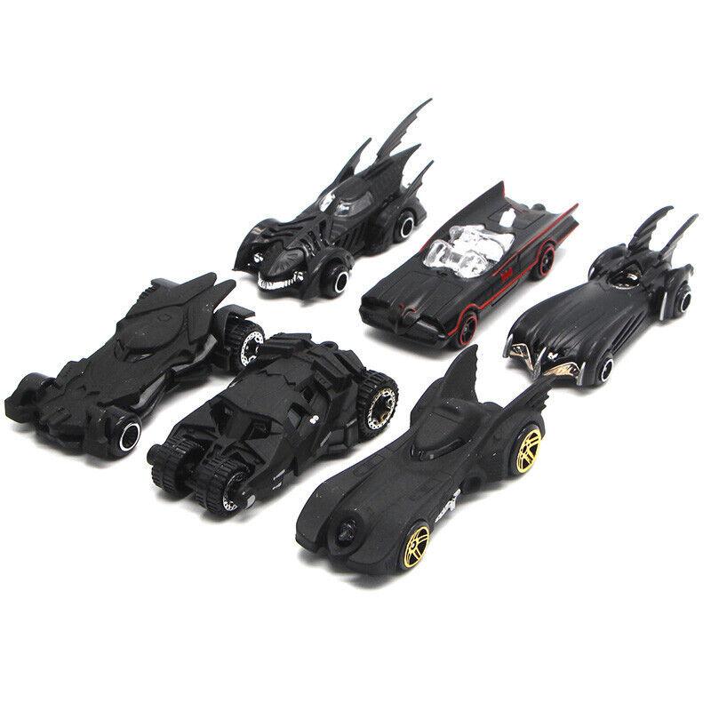 Hot Alloy Wheels Cars Set Comics Batman Batmobile Die-Cast Cars Toys Kids Gift