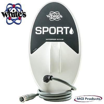 """White's 6""""x10"""" Sport Waterproof Search Coil for MX Sport Metal Detector 801-3258"""