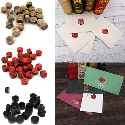 100pcs set Vintage Sealing Wax Beads For Retro Seal Stamp Wedding Envelope Cards