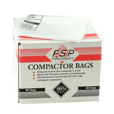 "Kenmore 18"" Trash Compactor Bags - Plastic for Sears - NEW"