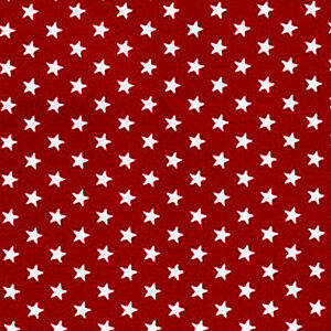 IYd-100-Cotton-Oxford-Fabric-5mm-White-Star-Dot-on-Red