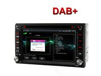 Android 7.0 inch DAB+ GPS Navigation Bluetooth Full European HD 2 din Car Stereo