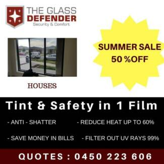 Home Window Tinting - Safety Film