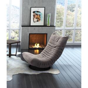 Modern Down Low Swivel Chair Gray (Brand New)$225