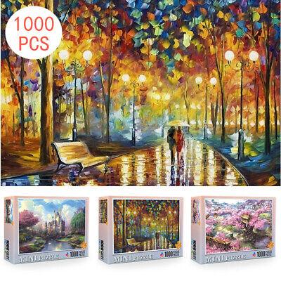 1000 Pieces DIY jigsaw Puzzle Adult Puzzles Children Educational Toys Decoration