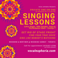 SINGING LESSONS w/TED Talks Speaker & Vocal Coach, Carolyn T