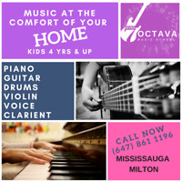 MUSIC CLASSES AT YOUR HOME, KIDS 4 YRS & UP