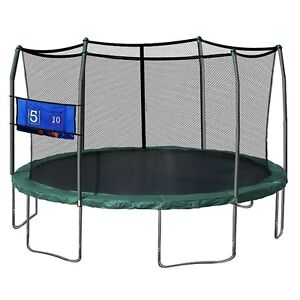 Skywalker Trampolines Oval Trampoline with Enclosure and Double