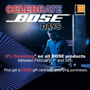 Celebrate Bose Month at Long & McQuade