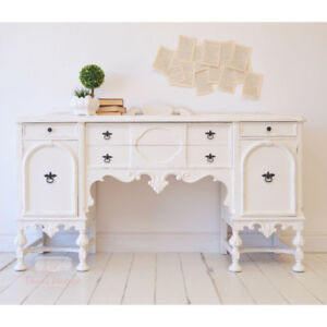 FREE DELIVERY Antique White Distressed Sideboard / Buffet
