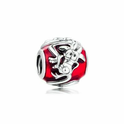 AUTHENTIC SPRING 2020 DISNEY PANDORA Bead MULAN MUSHA CHARM 798632C01