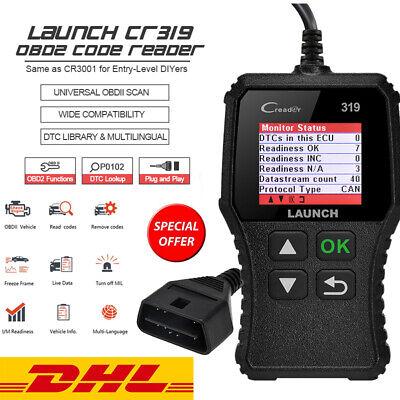 Launch CR319 Profi OBD2 Diagnosegerät Tool Auto KFZ Scanner Fehlerauslesegerät