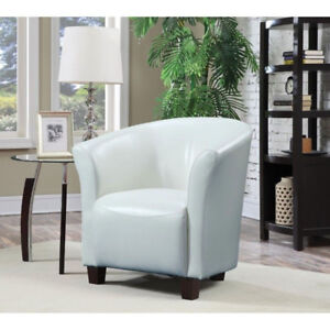 White Accent Chairs (3) ~ perfect for any room
