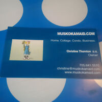 MUSKOKAMAID.COM....Reliable, Efficient and Affordable!