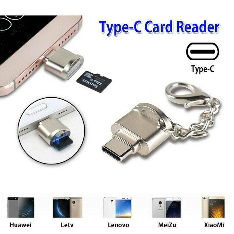 USB 3.1 Type C USB C to Micro SD Card Reader Adapter For Mac