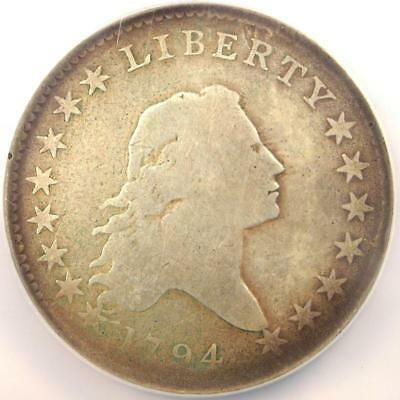 1794 Flowing Hair Bust Half Dollar 50C O-104 - NGC VG Details - Rare Date Coin  - $3,698.90