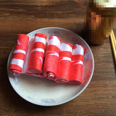 Men Women Funny Novelty Socks 3D Printed Meat Pork Casual Ankle Socks 1 Pair