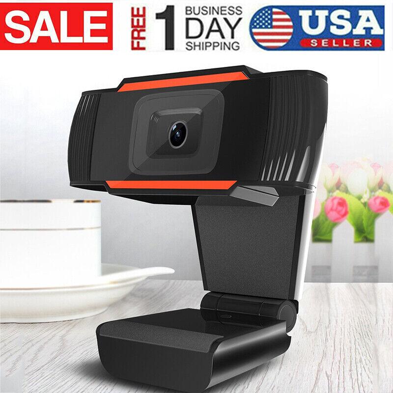Webcam Auto Focusing Web Camera HD WebCam With Microphone For PC Laptop Desktop