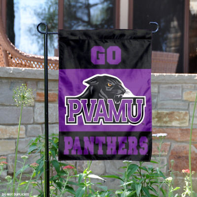 Prairie View A&M Panthers Garden Flag and Yard Banner