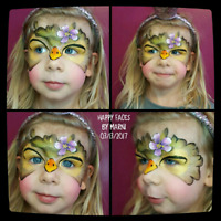 Facepainting, Airbrush Tattoos, Glitter Tattoos, Henna