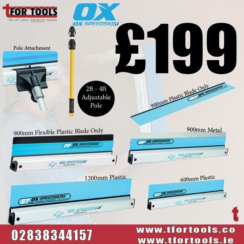 OX-P530912 OX PRO SPEEDSKIM PLASTIC 1200MM