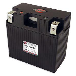 LITHIUM SHORAI BATTERY FOR MOTORCYCLES AND ATVS LFX21A6-BS12