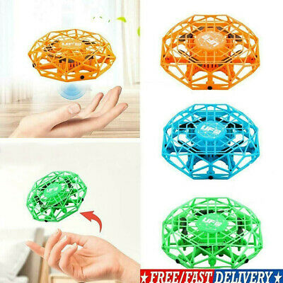 Mini Drones 360° Smart UFO Helicopter Flying Toy For Kids Children Holiday Gift